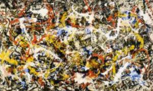 Pollock 'Convergence'