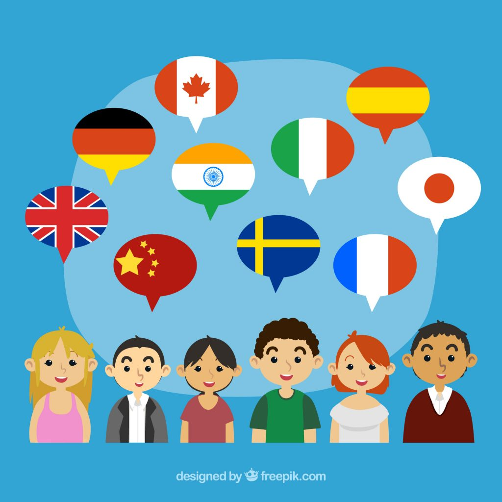 Languages vector